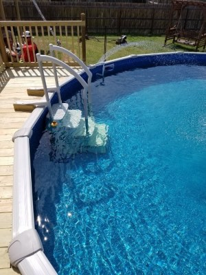 Determining Size of Pool, Shape and Square Footage of Deck